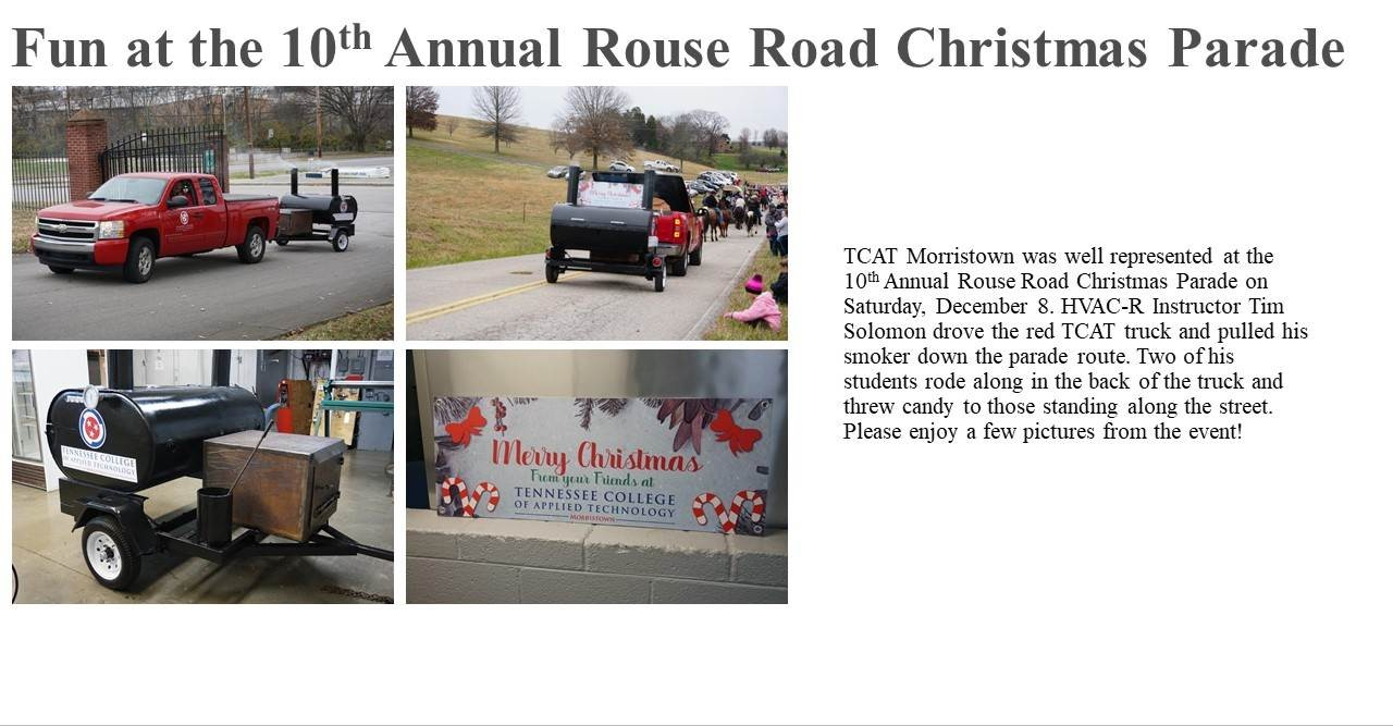 Morristown, Tn Christmas Parade 2020 Fun at the 10th Annual Rouse Road Christmas Parade | TCAT Morristown